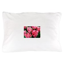 Pink Roses Pillow Case