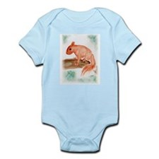 Red Squirrel Infant Bodysuit