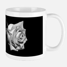 B&W Rose Photo Mug