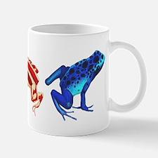 Three Dart Frogs Mug