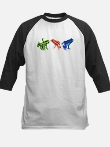 Three Dart Frogs Baseball Jersey