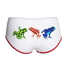 Three Dart Frogs Women's Boy Brief