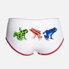 Three Dart Frogs Women's Boy Brief