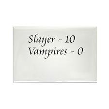 Slayer vs. Vampires Rectangle Magnet