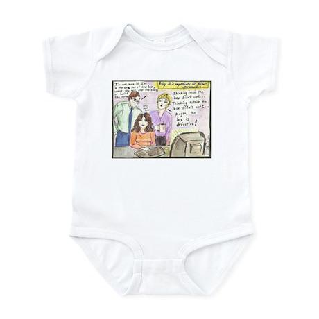 Thinking Outside the Box Infant Bodysuit