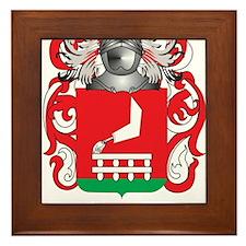 Dominik Coat of Arms Framed Tile