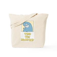 """Todd """"Duh"""" Dinosaur Tote Bag"""