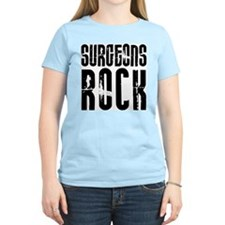 Surgeons Rock Women's Pink T-Shirt