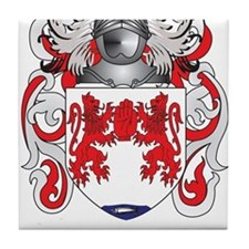Donnelly Coat of Arms Tile Coaster