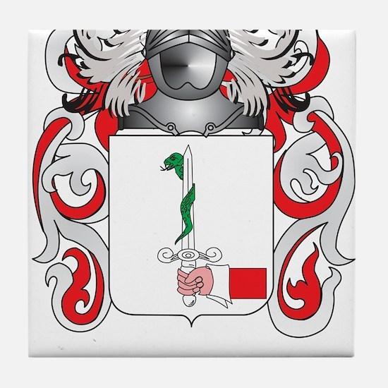 Donovan Coat of Arms Tile Coaster