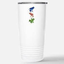 Dart Frogs Stainless Steel Travel Mug