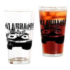 M1 Abrams Drinking Glass