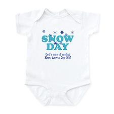 Snow Day Infant Bodysuit