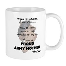 Proud Army Mom-In-Law  Mug