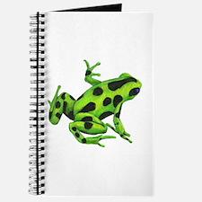 Green Dart Frog Journal