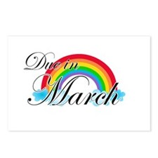 Due in March Rainbow Postcards (Package of 8)