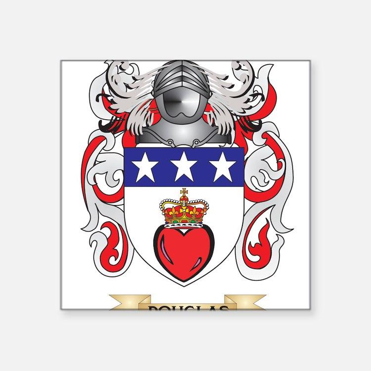 Douglas Coat of Arms Sticker