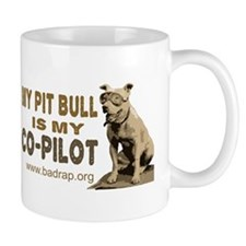 Pit Bull Co-Pilot Small Mugs