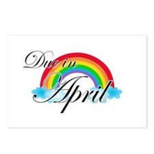Due in April Rainbow Postcards (Package of 8)