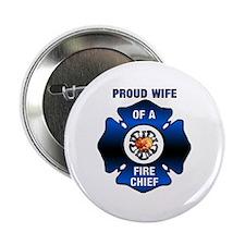 "Fire Chiefs Wife 2.25"" Button"