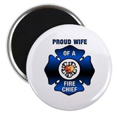 Fire Chiefs Wife Magnet