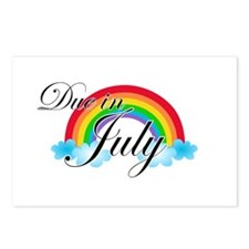 Due in July Rainbow Postcards (Package of 8)