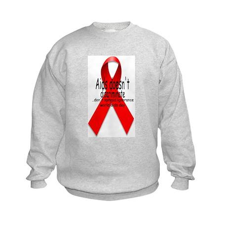 Aids Doesn't discriminate Kids Sweatshirt