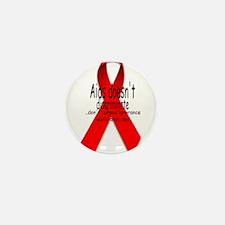 Aids Doesn't discriminate Mini Button (10 pack)