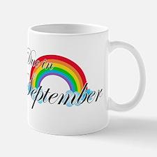 Due in September Rainbow Mug