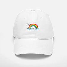 Due in October Rainbow Baseball Baseball Cap