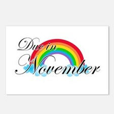 Due in November Rainbow Postcards (Package of 8)