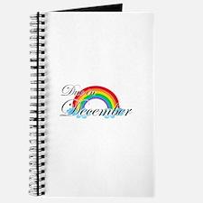 Due in December Rainbow Journal