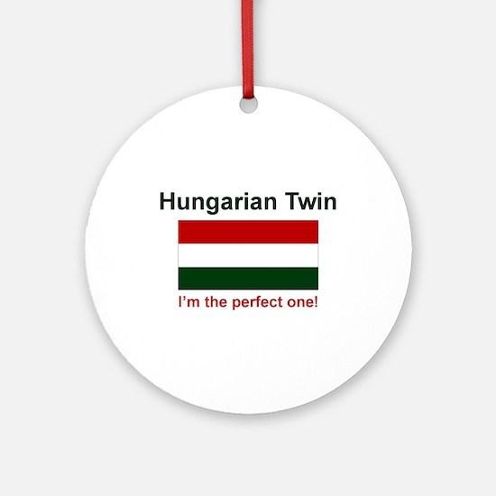 Perfect Hungarian Twin Keepsake Ornament