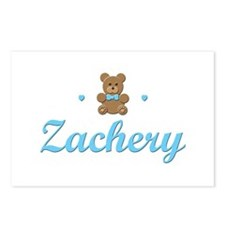 Teddy Bear - Zachery Postcards (Package of 8)