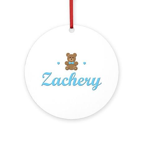 Teddy Bear - Zachery Ornament (Round)