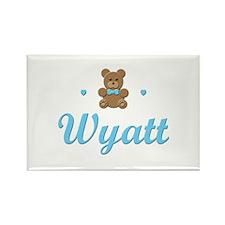 Teddy Bear - Wyatt Rectangle Magnet