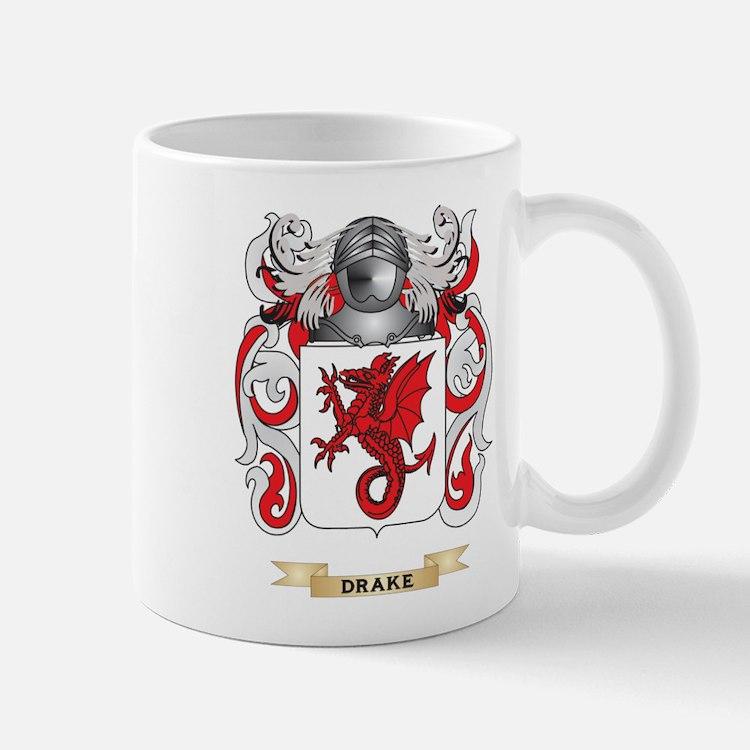 Drake Coat of Arms Mug