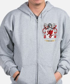 Drake Coat of Arms Zip Hoodie