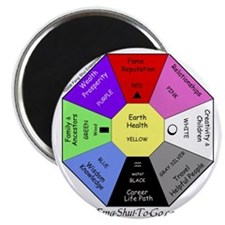 "Feng Shui To Go 2.25"" Magnet (100 pack)"