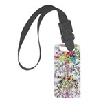 Marie Antoinette's Boudoir Small Luggage Tag
