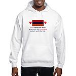 Armenian Love Hooded Sweatshirt