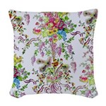 Marie Antoinette's Boudoir Woven Throw Pillow