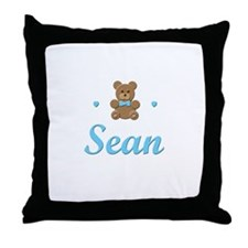 Teddy Bear - Sean Throw Pillow