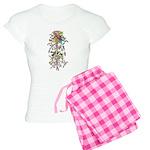 Marie Antoinette's Boudoir Women's Light Pajamas