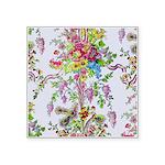 Marie Antoinette's Boudoir Square Sticker 3