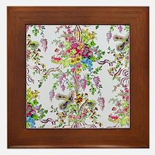 Marie Antoinette's Boudoir Framed Tile