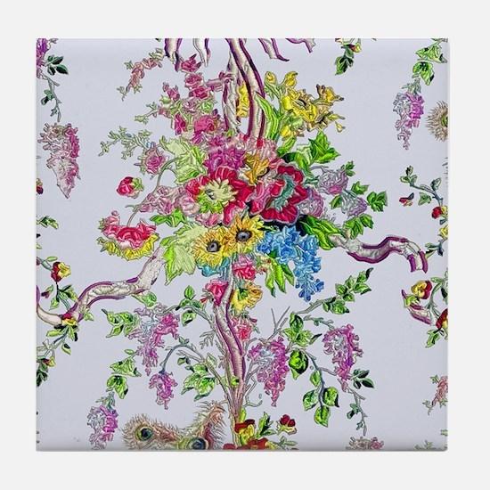 Marie Antoinette's Boudoir Tile Coaster