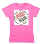 Pug Mom Girl's Tee