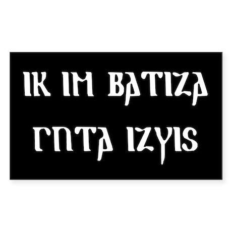 Better Goth Rectangle Sticker