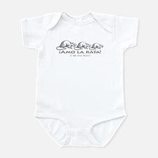 Love the Rat Spanish Infant Bodysuit
